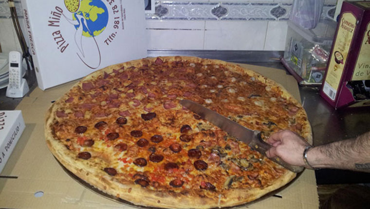 Cacho pizza